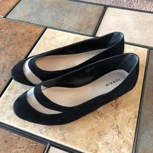 Torrid Black Ballerina Flats Size 9W